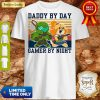 Nice Doomguy and Isabelle Daddy By Day Gamer by Night Vintage Shirt