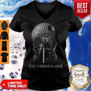 Pretty The Thrones Is Mine V-Neck