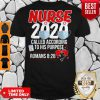 Pro Nurse 2020 Mask Called According To His Purpose Roman 8 28 Shirt