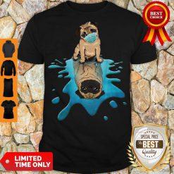 Pro Pug Dog Face Mask Shirt