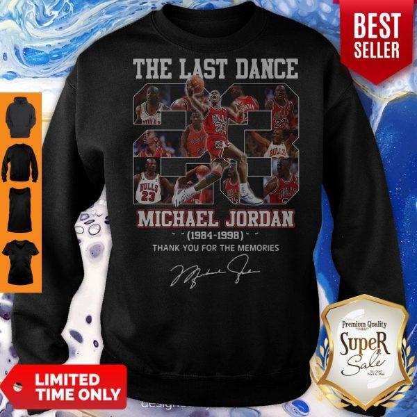 Pro The Last Dance 23 Michael Jordan 1984-1998 Thank You For The Memories Sweatshirt