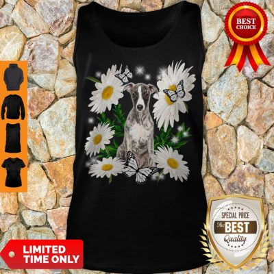 Pro Whippet Daisy Flower Classic T-Tank Top