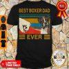 Top Bear Boxer Dad Ever Vintage Shirt