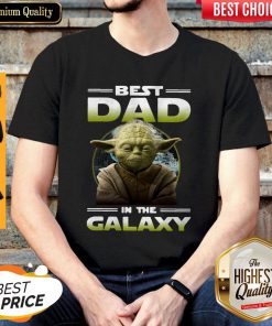 Top Master Yoda Best Dad In The Galaxy Shirt