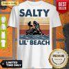 Top Mermaid Salty Lil' Beach Vintage Shirt