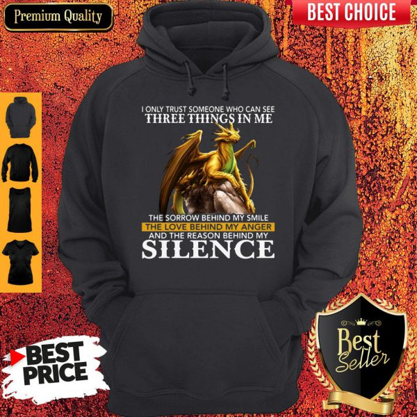 I Only Trust Someone Who Can See Three Things In Me The Sorrow Behind My Smile Vintage Hoodie