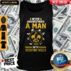 Nice Never Underestimate A Man With Scouting Skills Tank Top