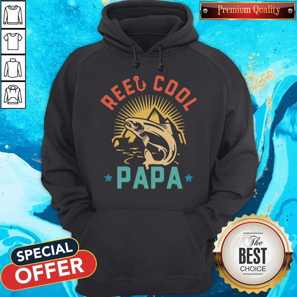 Official Fishing Reel Cool Papa Hoodie