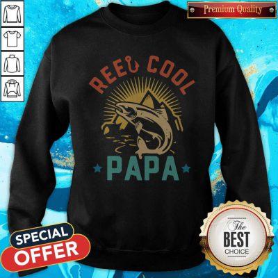 Official Fishing Reel Cool Papa Sweatshirt