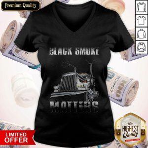 Premium Black Smoke Matters Sweatshirt