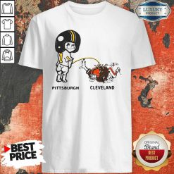 Pretty Piss On Pittsburgh Steelers Pee Cleveland Browns Shirt