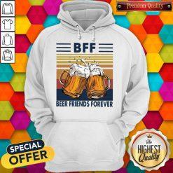 Pro BFF Beer Friends Forever Vintage Hoodie