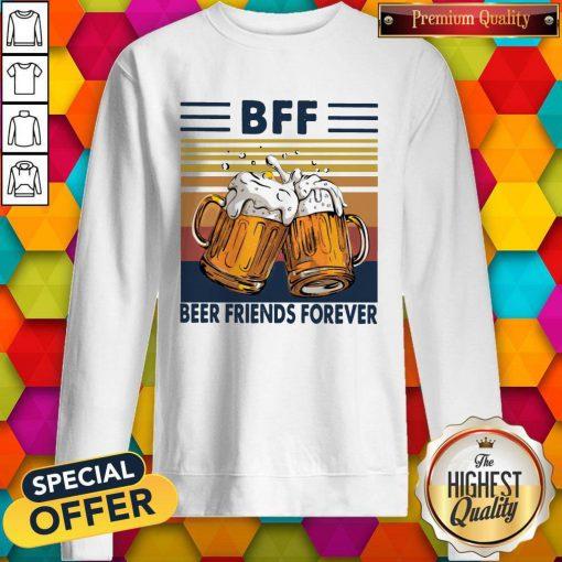 Pro BFF Beer Friends Forever Vintage Sweatshirt
