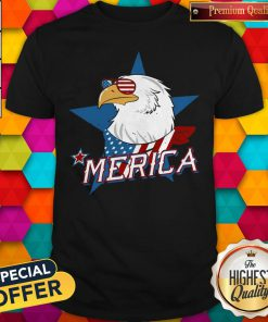 Beautiful Eagle Merica American Flag Shirt