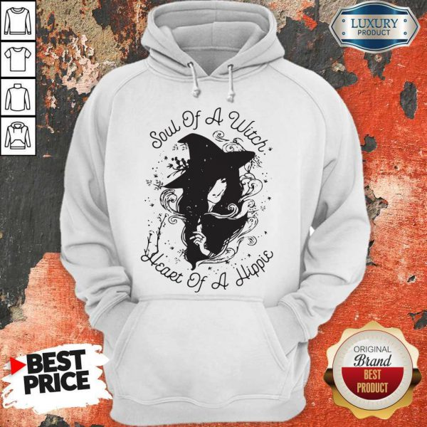 Cute Soul Of A Witch Broken Heart Of A Hippie Hoodie
