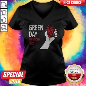 Good I Want Green Day American Idiot V-neck