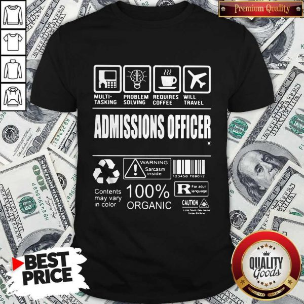 High Quality I Love Admissions Officer Shirt