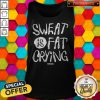 Lovely We Should Sweat Is Fat Crying Tank Top