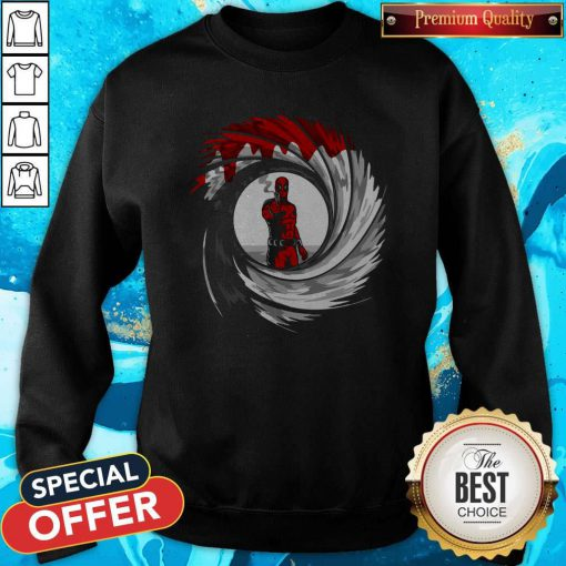 Official I Can't Forget The Deadpool Gun Sweatshirt