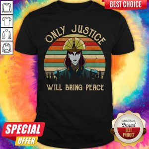 Premium I Wish Only Justice Will Bring Peace Shirt