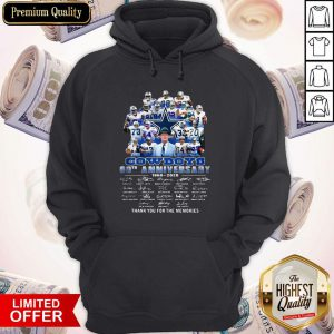 Pro Dallas Cowboys Football Team 60th Anniversary 1960 2020 Thank You For The Memories Signatures Hoodie