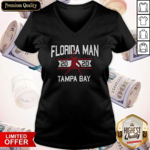Sweet Florida Man 2020 Tampa Bay V-neck