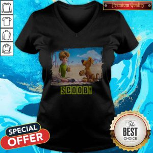 Top Scoob Movie Shaggy And Scooby V-neck