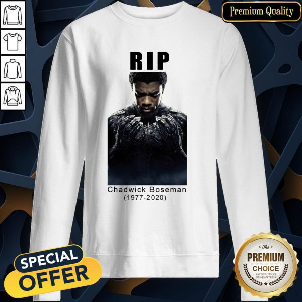 Chadwick Boseman Rip 1977 2020 Sweatshirt