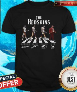 Good The Redskins Team Abbey Road Signatures Shirt