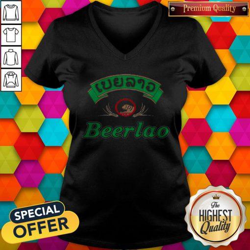 Official I like Boardrippaz Beerlao V-neck
