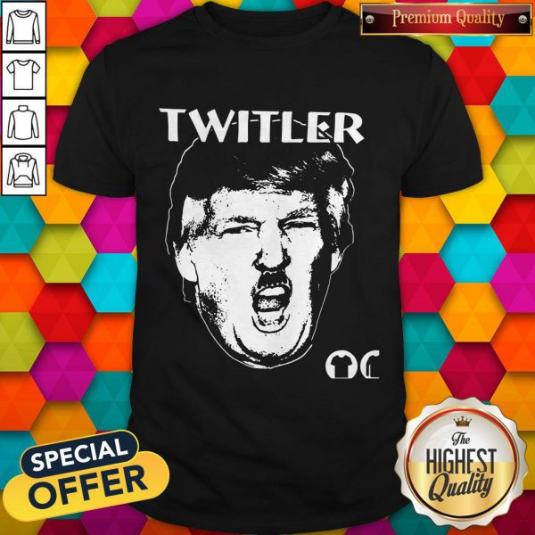 Premium Anti TrumpTwitler Nazi Trump Hitler Shirt