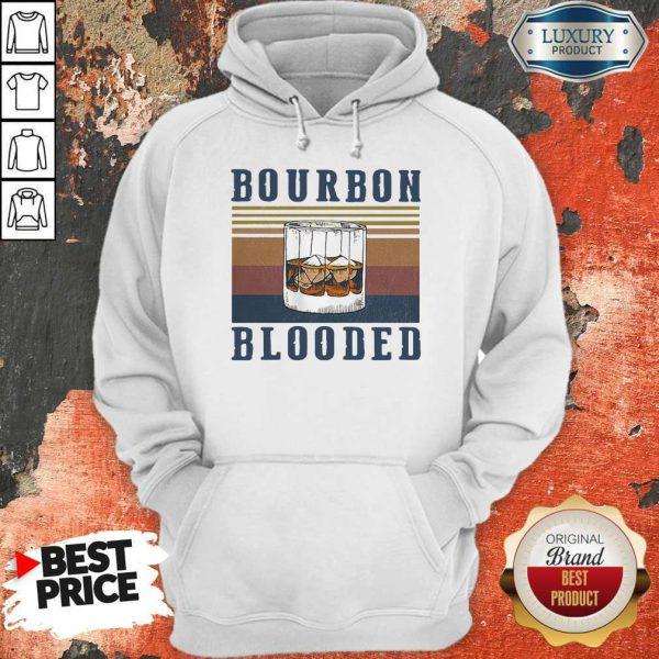 Wonderful Wine Bourbon Blooded Vintage Hoodie