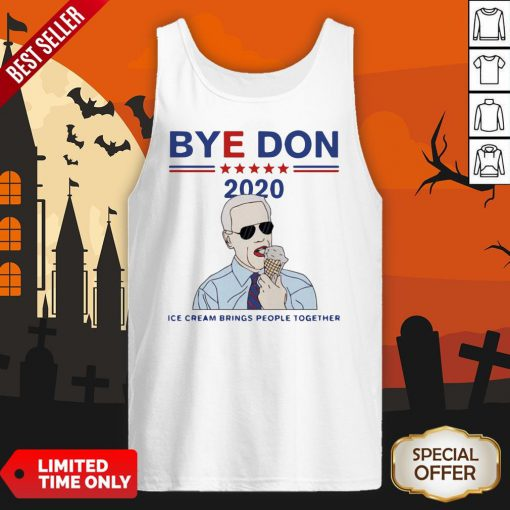 Byedon 2020 Ice Cream Brings People Together Tank Top