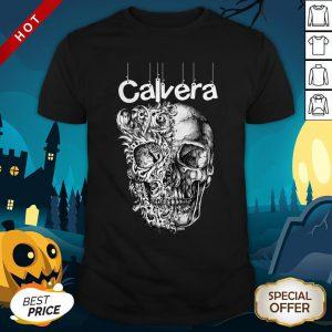Calavera Mexico Sugar Skul Day Of The Dead Dia De Muertos Shirt