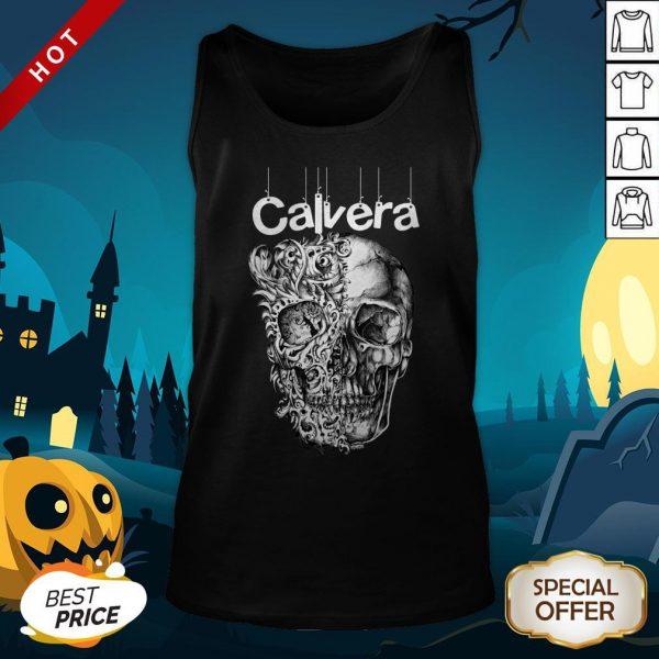 Calavera Mexico Sugar Skul Day Of The Dead Dia De Muertos Tank Top