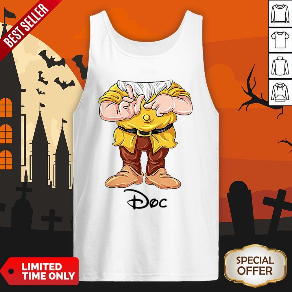 Cute Doc Dwarf Halloween Costume Tank Top