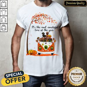 Dachshund It's The Most Wonderful Time Of The Year Halloween Shirt