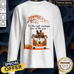 Dachshund It's The Most Wonderful Time Of The Year Halloween SweatShirt