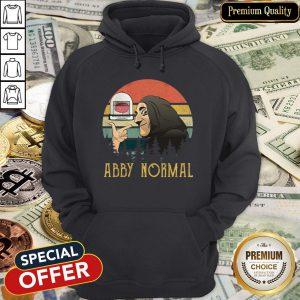 Do Not Use The Again Abby Normal Vintage Hoodie
