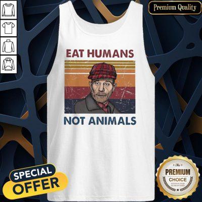 Eat Humans Not Animals Vintage Tank Top