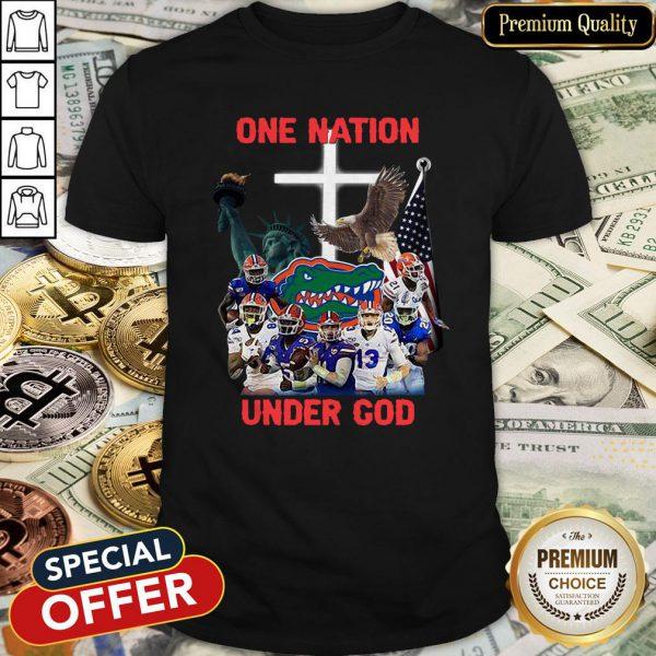 Florida Gators One Nation Under God Shirt