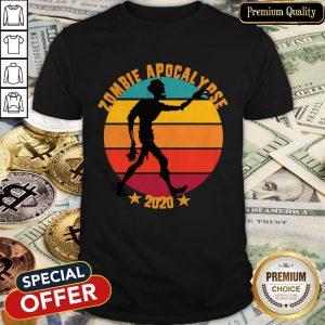 Halloween 2020 Zombie Apocalypse Quarantine Shirt