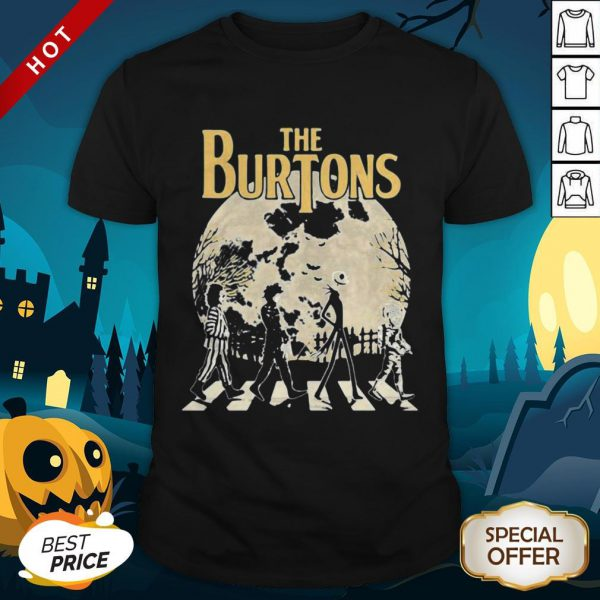 Halloween Horror Characters Crossing The Line Shirt