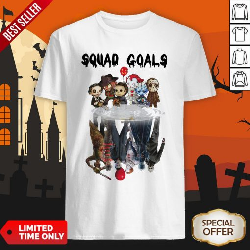 Halloween Horror Characters Squad Goals Shirt
