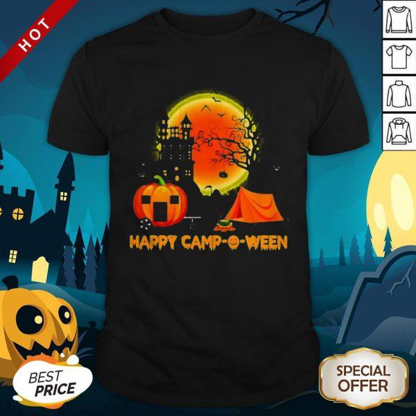 Happy Camp-O-Ween Halloween Pumpkin Moon Shirt