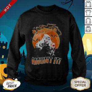 If You Got It Haunt It Wine Halloween SweatShirt