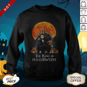 Jack Skellington The King Of Halloween SweatShirt