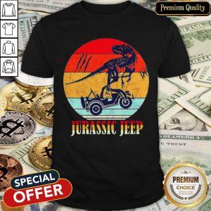 Jurassic Jeep Vintage Halloween Shirt