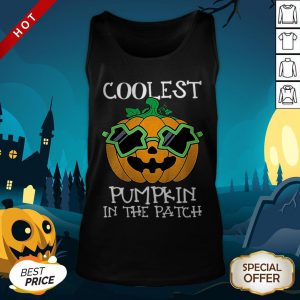 Kids Coolest Pumpkin In The Patch Halloween Costume Boys Gift Tank Top