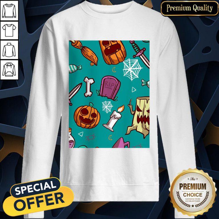 Official Spooky Happy Halloween Day 2020 SweatShirt